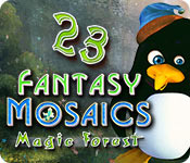 Join the penguins on their mosaic adventure to a magic forest!