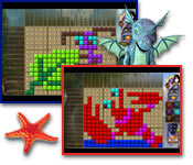 Buy PC games online, download : Fantasy Mosaics 24: Deserted Island