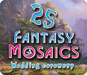 Fantasy Mosaics 25: Wedding Ceremony for Mac Game
