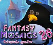 Buy PC games online, download : Fantasy Mosaics 26: Fairytale Garden