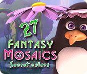 Buy PC games online, download : Fantasy Mosaics 27: Secret Colors