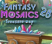 Fantasy Mosaics 28: Treasure Map for Mac Game