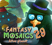Fantasy Mosaics 29: Alien Planet for Mac Game