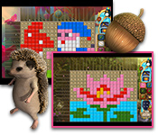 Buy PC games online, download : Fantasy Mosaics 31: First Date