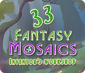 Fantasy Mosaics 33: Inventor's Workshop for Mac Game
