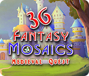 Fantasy Mosaics 36: Medieval Quest for Mac Game