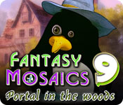 Fantasy Mosaics 9: Portal in the Woods Game Featured Image