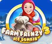 Farm Frenzy: Ice Domain Game Featured Image