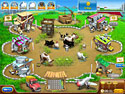 1. Farm Frenzy Pizza Party game screenshot