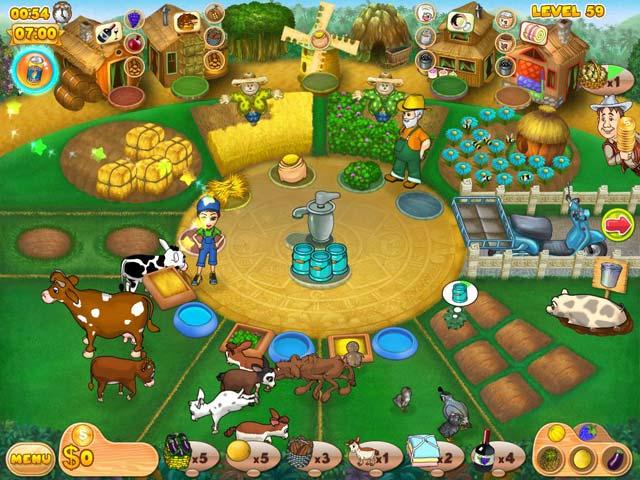 Gra Farm Mania 2 Gra Bezpłatne