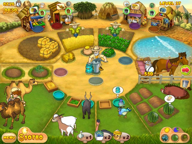 Farm Mania: Hot Vacation Screenshot http://games.bigfishgames.com/en_farm-mania-hot-vacation/screen1.jpg