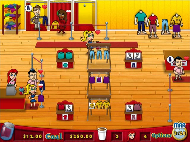 Fashion Fits A New Diner Dash Style Game