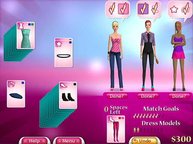 Click To Download Fashion Solitaire