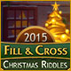 Fill And Cross Christmas Riddles Game