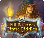 Fill and Cross Pirate Riddles 3 Game Featured Image