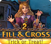 Fill and Cross: Trick or Treat 2 Game Featured Image