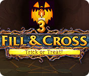 Fill and Cross: Trick or Treat! 3 Game Featured Image
