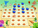 in-game screenshot : Fish! Let's Jump! (og) - Solve puzzles in Fish! Let`s Jump!