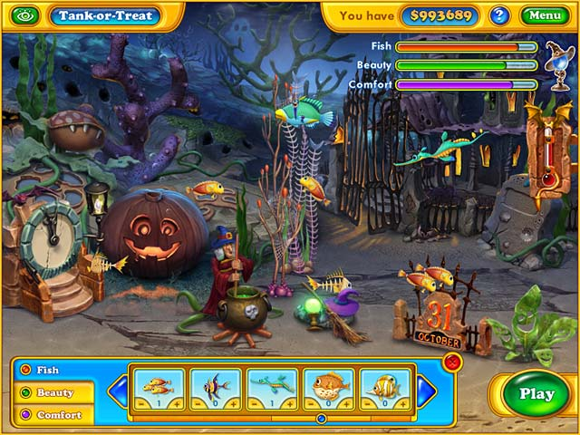 Fishdom spooky splash free download full version for Big fish games free download full version