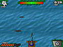 in-game screenshot : Fishing Frenzy (og) - Cast your line and land the big one.
