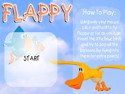 in-game screenshot : Flappy (og) - Have a sky-high adventure with Flappy!