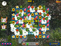 in-game screenshot : Flowery Vale (pc) - A match 3 garden fantasy.