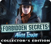 Forbidden Secrets: Alien Town Collector's Edition Game Featured Image