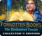 Forgotten Books: The Enchanted Crown Collector's Edition Game Featured Image