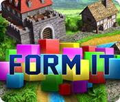 FormIt is a unique and colorful puzzle game where you complete challenging levels by filling the empty cells with the pieces available to you.