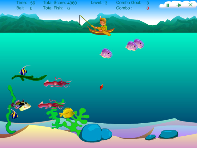 A free online game fortune fishing game for Free online fishing games