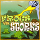 Free online games - game: Frogs vs Storks