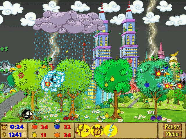 Click To Download Fruity Garden