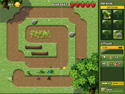 in-game screenshot : Garden Panic (og) - Stop the invaders in Garden Panic!