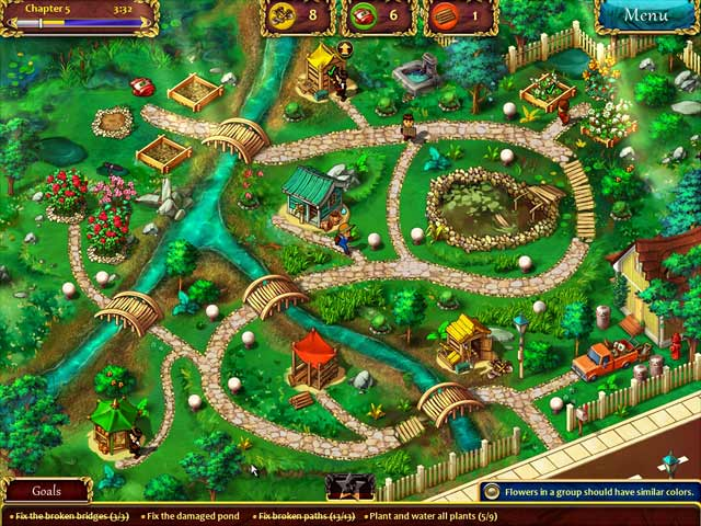 Gardens Inc.: From Rakes to Riches - Big Fish Games
