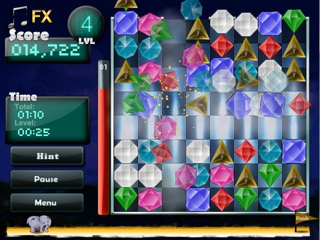 free online gem games