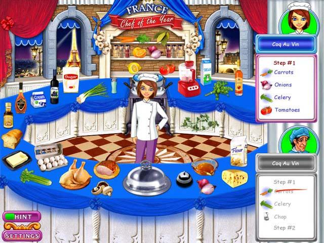Gra Go Go Gourmet: Chef of the Year Gra Bezpłatne