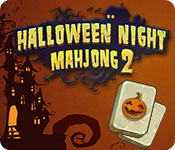 Halloween Night Mahjong 2 Game Featured Image