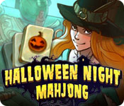Halloween Night Mahjong Game Featured Image