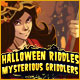 Halloween Riddles: Mysterious Griddlers