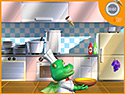 in-game screenshot : Happy Kitchen (og) - Help Chef Dragon stock his pantry.