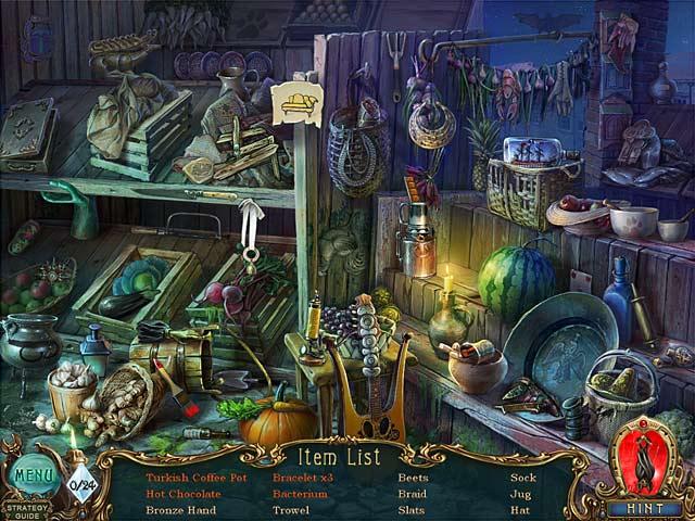 Gra Haunted Legends: The Bronze Horseman Collector's Edition Gra Bezpłatne