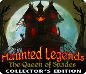 Haunted Legends: The Queen of Spades Collector's Edition Game Featured Image