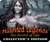 Haunted Legends: The Secret of Life Collector's Edition Game Featured Image