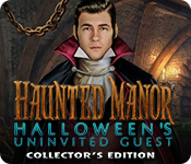 Haunted Manor: Halloween's Uninvited Guest Collector's Edition for Mac Game
