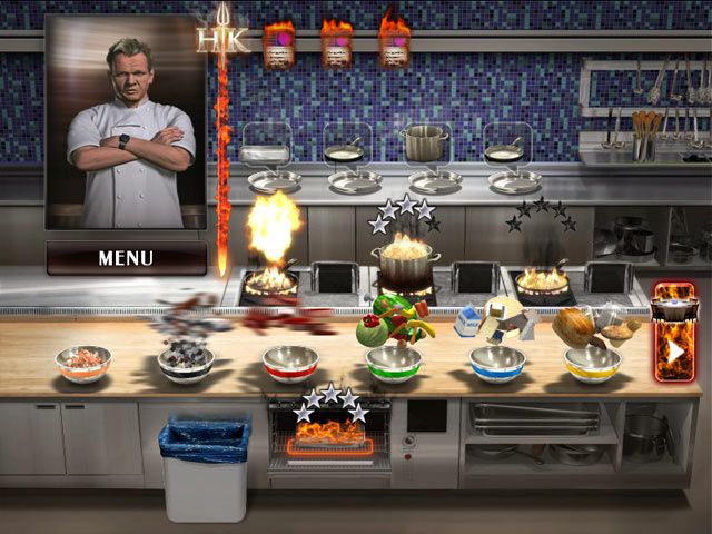 YOU DONKEY!quot; Top Chef Gordon Ramsay in Hell39;s Kitchen, the Video Game
