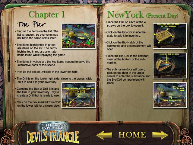 Hidden Expedition ® : Devil's Triangle Strategy Guide Screenshots