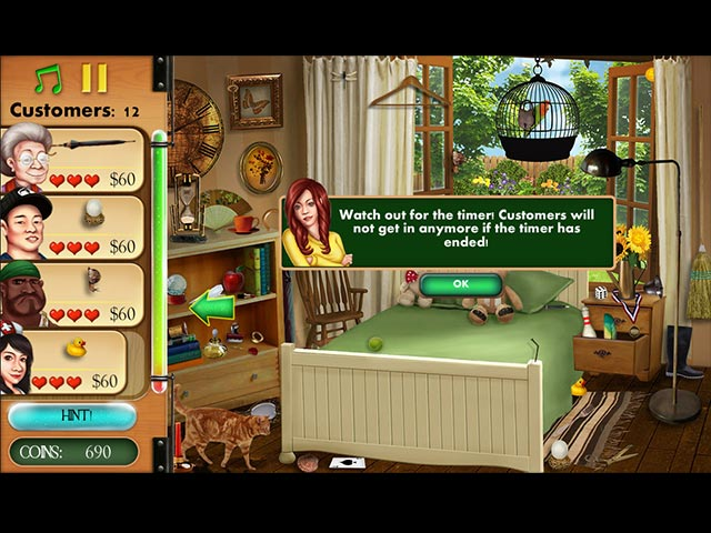 Big Fish Games Hidden Object Home Makeover