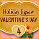 Holiday Jigsaw Valentine's Day 4 Game