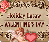 Holiday Jigsaw Valentine's Day Game Featured Image