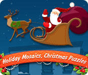 Holiday Mosaics Christmas Puzzles Game Featured Image